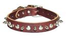 1-Ply Spiked & Studded Latigo Collar(3/8