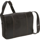 Le Donne Leather DS-1009  Distressed Leather  Laptop Messenger