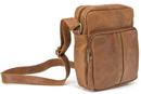 Le Donne Leather DS-1505  Distressed Leather  Mens Day Bag
