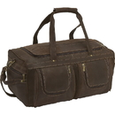 Le Donne Leather DS-158 Distressed Leather Duffel