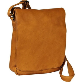 2baa6dc063f4 Opentip.com  Le Donne Leather H-149 Vertical Flap Over Shoulder Bag