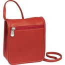 Le Donne Leather H-62A  Flap Over Mini Crossbody Bag