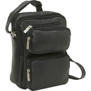Le Donne Leather LD-082  Multi Pocket Organizer Man Bag