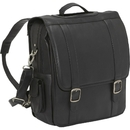 Le Donne Leather LD-115  Convertible Laptop Backpack/Brief