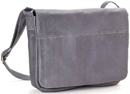 Le Donne Leather LD-503  Full Flap Laptop Messenger Bag