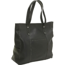 Le Donne Leather LD-7011  Large Slip Pocket Tote