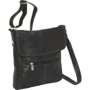 Le Donne Leather LD-7023  Contrast Crossbody