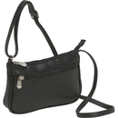 Le Donne Leather LD-9130  Top Zip Mini Crossbody