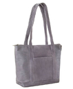 Le Donne Leather S-04  Double Strap Small Pocket Tote