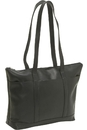 Le Donne Leather S-05  Medium Classic Pocket Tote Bag