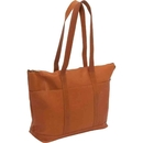 Le Donne Leather S-06  Double Strap Large Pocket Tote