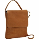 Le Donne Leather T-783  Small Flap Over Shoulder Bag
