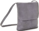 Le Donne Leather T-784  Simple Flap Over Crossbody Bag