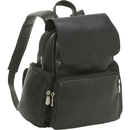 Le Donne Leather TR-125  Womens Multi Pocket Backpack