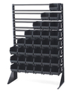 LEWISBins+ ESD-Safe Rail Floor Stand - FS116-CON, 1-sided