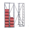 LEWISBins+ Metal Hopper Rack, Grey - HR1811