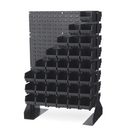 LEWISBins+ ESD-Safe Louvered Panel Floor Stand - LPFS2-CON