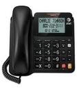 AT&T ATT-CL2940 Corded Speakerphone with Display - BLACK