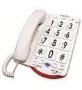 Clarity CLARITY-JV35W 76557.101 50dB Phone Large White Keys