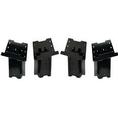 HME Products HME-ELEV-4PK Blind Post brackets