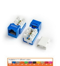 HYPERLINE HY-CAT5-JACKPACK-BL-25 Kjne-8P8C-C5E-90-Bl-25 Jack Pack Blue