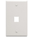 ICC ICC-FACE-1-WH IC107F01WH - 1Port Face White