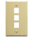 ICC ICC-FACE-3-IV IC107F03IV - 3Port Face Ivory