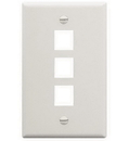 ICC ICC-FACE-3-WH IC107F03WH - 3Port Face White