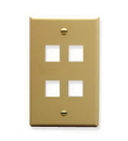 ICC ICC-FACE-4-IV IC107F04IV - 4Port Face Ivory