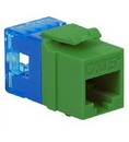 ICC ICC-IC1078F5GN MODULE, CAT 5e, HD, GREEN