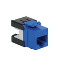 ICC ICC-IC1078GABL Module, Cat6A, Hd, Blue