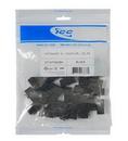 ICC ICC-IC107C6CBK Module, Coupler, Cat 6 25 Pk, Black