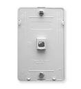 ICC ICC-IC630DB6WH Wall Plate IDC 6P6C - White