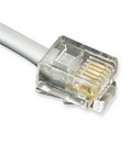 Cablesys ICC-ICLC425FSV GCLB466025  25' Flat Line Cord 6P4C SV