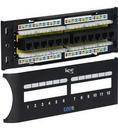 ICC ICC-ICMPP12F6E Patch Panel, Cat 6 Front, 12 Port