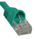 ICC ICC-ICPCSJ01GN PATCH CORD, CAT 5e, MOLDED BOOT, 1' GN