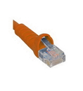 ICC ICC-ICPCSJ01OR PATCH CORD, CAT 5e, MOLDED BOOT, 1' OR
