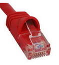ICC ICC-ICPCSJ01RD PATCH CORD, CAT 5e, MOLDED BOOT, 1' RD