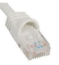 ICC ICC-ICPCSJ01WH PATCH CORD, CAT 5e, MOLDED BOOT, 1' WH