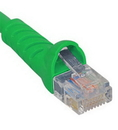 ICC ICC-ICPCSJ10GN PATCH CORD, CAT 5e, MOLDED BOOT, 10' GN
