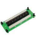ICC ICC-ICRESDPB3C Compact Module, Cat 6 Data, 8-Port