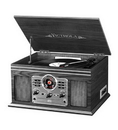 Innovative Technology INN-ITVS-200B-GRY Victrola 6 in 1 Bluetooth Turntable