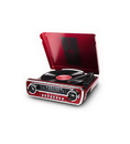 ION ION-MUSTANG-LP-RED iT69 Classic Car-Styled Music Center