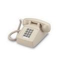 Cortelco ITT-2500-27F 250044-VBA-27F Desk w/ Flash/Message Ash