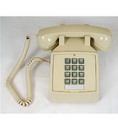 Cortelco ITT-2500-V-AS 250044-VBA-20M Desk w/ Volume ASH