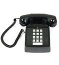 Cortelco ITT-2500-V-BK 250000-VBA-20M Desk w/ Volume BLACK
