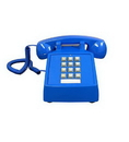Cortelco ITT-2500-V-BL 250012-VBA-20M Desk w/ Volume BLUE
