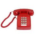 Cortelco ITT-2500-V-RD 250047-VBA-20M Desk w/ Volume RED