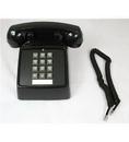 Cortelco ITT-2500-VOE-MD-BK 250000-VOE-20MD Desk w/ Electric ringer