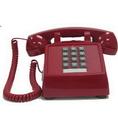 Cortelco ITT-2500-VOE-MD-RD 250047-VOE-20MD Desk w/ Electric ringer